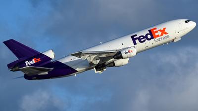 N571FE - McDonnell Douglas MD-10-10(F) - FedEx