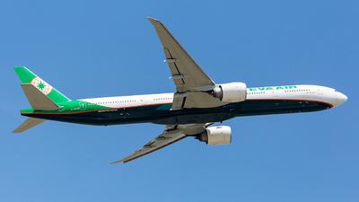 A picture of B16736 - Boeing 77736N(ER) - EVA Air - © Konoha