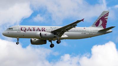 A7-ADB - Airbus A320-232 - Qatar Airways
