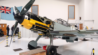 G-CIPB - Messerschmitt Bf 109E-7 - Private