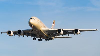 A picture of A6APA - Airbus A380861 - Etihad Airways - © Bartosz Szarszewski
