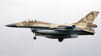 531 - General Dynamics F-16C Barak   - Israel - Air Force