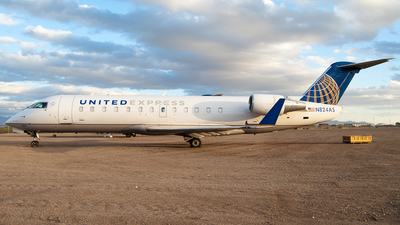N824AS - Bombardier CRJ-200ER - United Express (SkyWest Airlines)