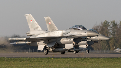 4070 - Lockheed Martin F-16C Fighting Falcon - Poland - Air Force