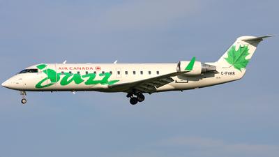 C-FVKR - Bombardier CRJ-100ER - Air Canada Jazz