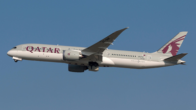 A7-BHF - Boeing 787-9 Dreamliner - Qatar Airways