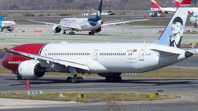 A picture of LNLNI - Boeing 7879 Dreamliner - Norwegian - © Mateo León