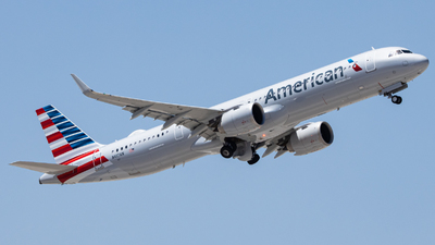 N417AN - Airbus A321-253NX - American Airlines