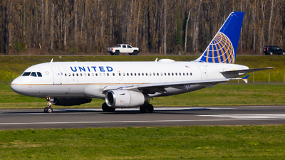 N814UA - Airbus A319-131 - United Airlines