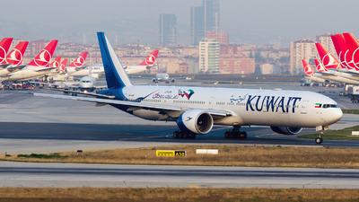 9K-AOK - Boeing 777-369ER - Kuwait Airways