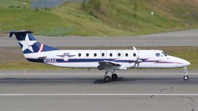 A picture of N125AX - Beech 1900C - Alaska Central Express - © ian simpson