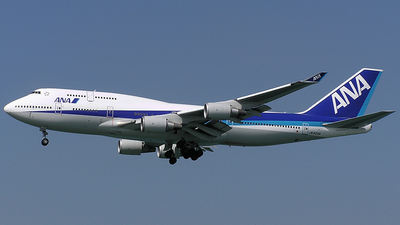 JA405A - Boeing 747-481 - All Nippon Airways (ANA)