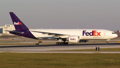 N866FD - Boeing 777-FS2 - FedEx