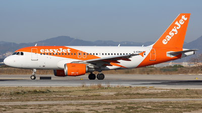 A picture of GEZBY - Airbus A319111 - easyJet - © Maynat