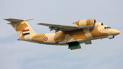 1257 - Antonov An-74T-200A - Egypt - Air Force