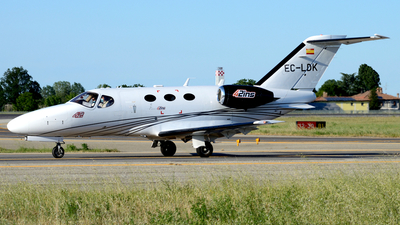 A picture of ECLDK - Cessna 510 Citation Mustang - Clipper Jet - © Donato Bolelli