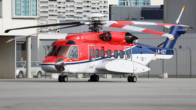 A picture of LNOQT - Sikorsky S92A - CHC Helikopter Service - © R.Rimestad