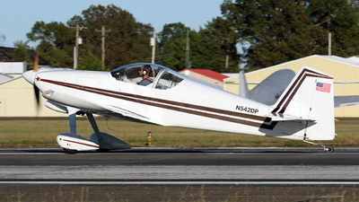 N542DP - Vans RV-6 - Private