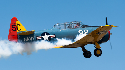 N94SC - North American T-6G Texan - Private