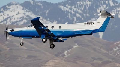 A picture of N815EK - Pilatus PC12/47 - [815] - © John Marzo