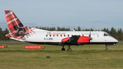 G-LGNC - Saab 340B - Loganair