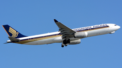9V-STH - Airbus A330-343 - Singapore Airlines