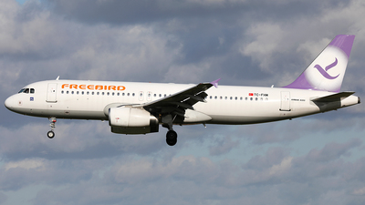 A picture of TCFHM - Airbus A320232 - Freebird Airlines - © AviaStar Photography