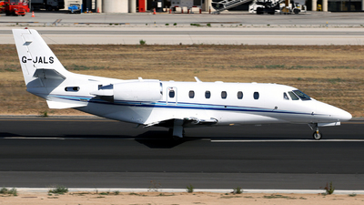G-JALS - Cessna 560XL Citation XLS Plus - Air Charter Scotland