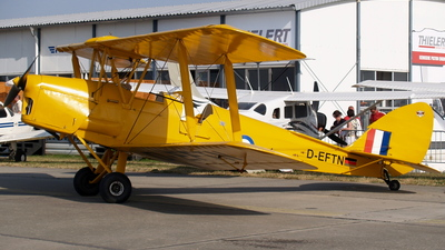 D-EFTN - De Havilland DH-82 Tiger Moth - Private