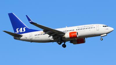 LN-TUL - Boeing 737-705 - Scandinavian Airlines (SAS)