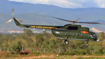 7848 - Mil Mi-8T - Vietnam - Air Force