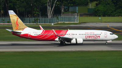 VT-AXZ - Boeing 737-8HG - Air India Express