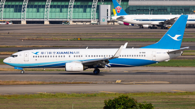 A picture of B5161 - Boeing 73785C - Xiamen Air - © LingFeng