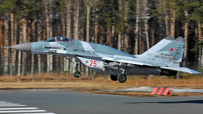 RF-92937 - Mikoyan-Gurevich MiG-29SMT Fulcrum - Russia - Air Force