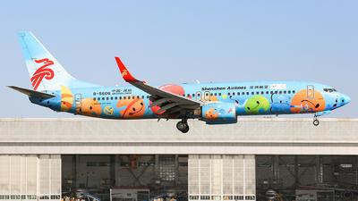 B-5606 - Boeing 737-87L - Shenzhen Airlines