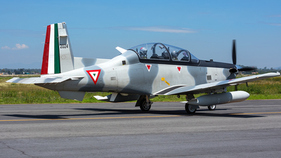 2024 - Raytheon T-6C Texan II - Mexico - Air Force