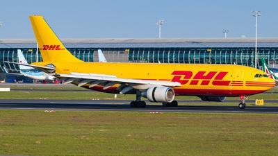 A picture of EIDGU - Airbus A300B4622R(F) - DHL - © Gaetan De Meyer
