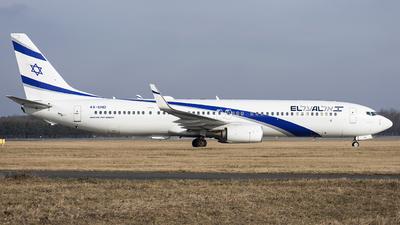 4X-EHD - Boeing 737-958ER - El Al Israel Airlines
