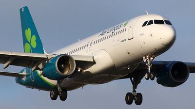 A picture of EIDVK - Airbus A320214 - Aer Lingus - © michel van bokhoven
