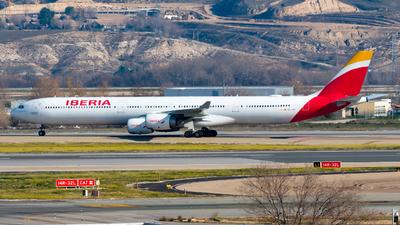 EC-LEV - Airbus A340-642 - Iberia
