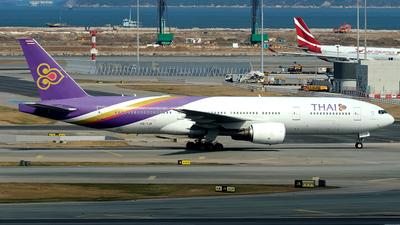 HS-TJR - Boeing 777-2D7(ER) - Thai Airways International