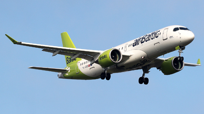 A picture of YLCSD - Airbus A220300 - Air Baltic - © n94504