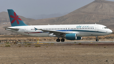C-GTDG - Airbus A320-214 - Air 2000