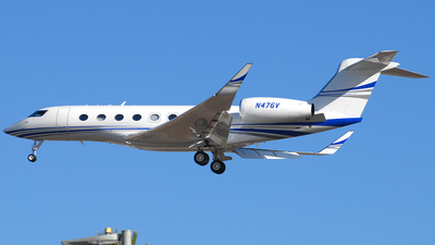 N476V - Gulfstream G650ER - Private