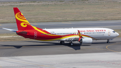 A picture of B1785 - Boeing 73784P - Hainan Airlines - © Eric Wang