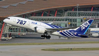 JA802A - Boeing 787-8 Dreamliner - All Nippon Airways (Air Japan)