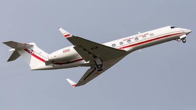 0001 - Gulfstream G550 - Poland - Air Force