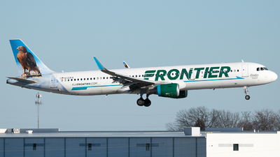 N723FR - Airbus A321-211 - Frontier Airlines
