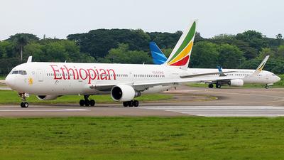 ET-ALP - Boeing 767-360(ER) - Ethiopian Airlines