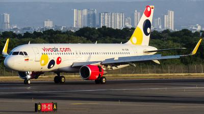 A picture of HK5318 - Airbus A320214 - Viva Air - © Angel Luis Reyes Herrera